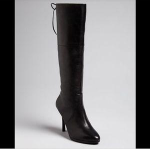 HP💜 NWT Lauren by Ralph Lauren Tall Leather Boots